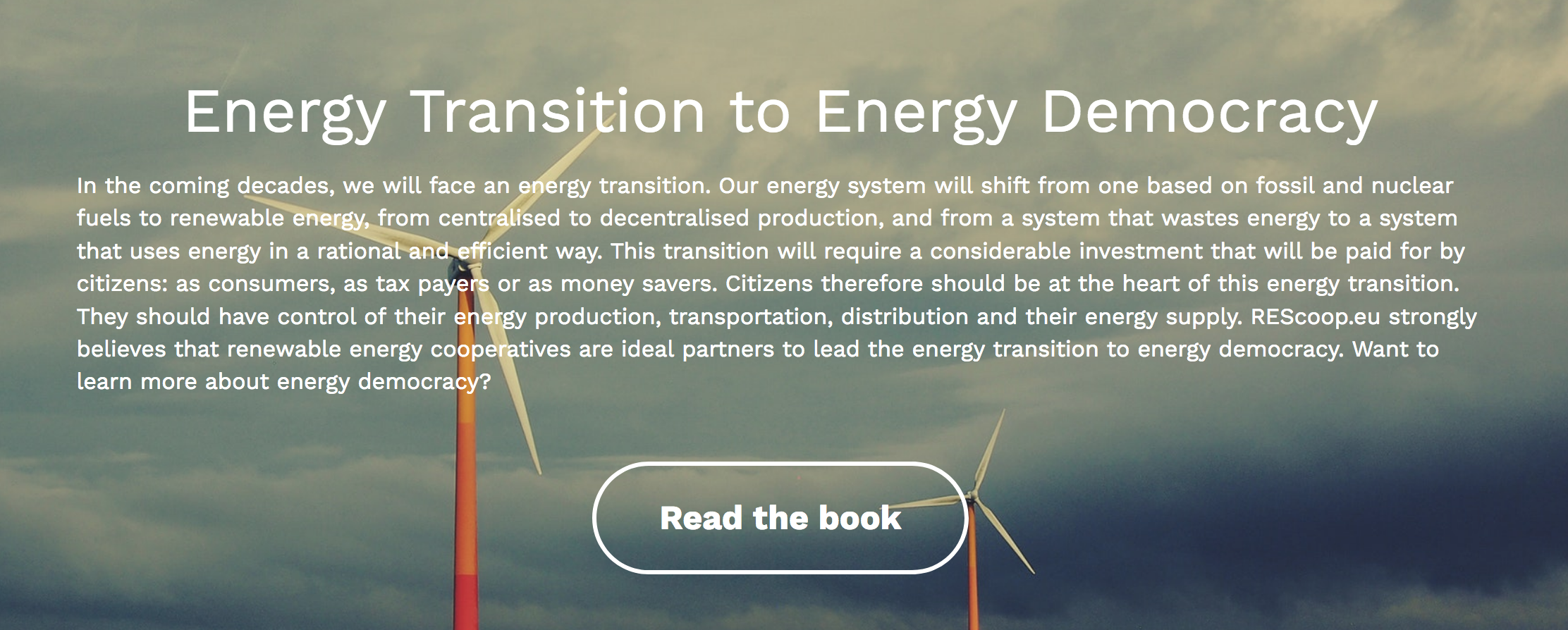 Report – The energy transition to energy democracy by REScoop
